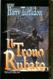 copertina di Il Trono Rubato