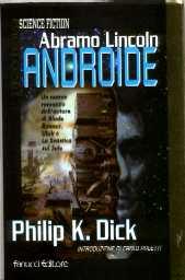 copertina di Abramo Lincoln Androide