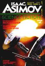 copertina di Isaac Asimov Science Fiction Magazine 16.ns