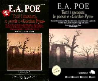 copertina di Tutti i racconti, le poesie e «Gordon Pym»