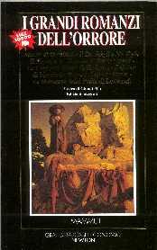 copertina di I grandi romanzi dell'orrore