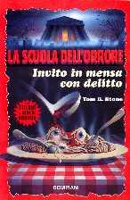 copertina di un volume della collana La Scuola dell'Orrore