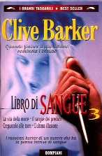 copertina di Libro di sangue 3