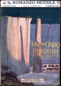 copertina di un volume della collana Il Romanzo Mensile