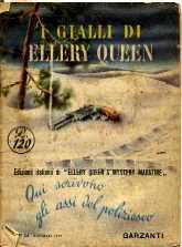 copertina di un volume della collana I Gialli di Ellery Queen