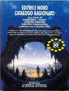 copertina di Catalogo ragionato delle opere di Fantascienza, Fantasy e Narrativa fantastica pubblicate fino al dicembre 1994
