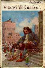 copertina di un volume della collana Biblioteca Salani Illustrata
