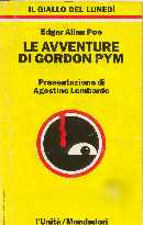 copertina di Le avventure di Gordon Pym