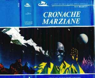 copertina di Cronache marziane