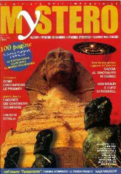 copertina di un volume della collana Mystero