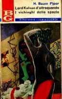 copertina di Lord Kalvan d'altroquando I vichinghi dello spazio