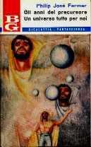 copertina di Gli anni del precursore Un universo tutto per noi