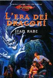 copertina di un volume della collana Dragonlance. La Quinta Era