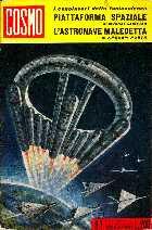copertina di un volume della collana Cosmo. I Capolavori della fantascienza