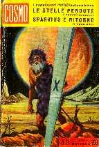 copertina di Le stelle perdute Sparvius e ritorno
