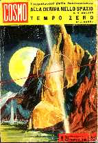 copertina di Alla deriva nello spazio Tempo zero