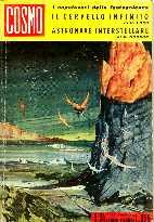 copertina di Il cervello infinito Astronave interstellare