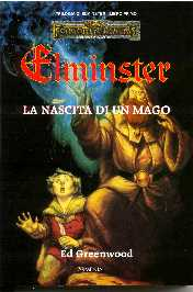 copertina di un volume della collana Forgotten Realms. Trilogia di Elminster