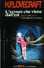 copertina di un volume della collana I Libri di Mystero la Rivista dell'Impossibile