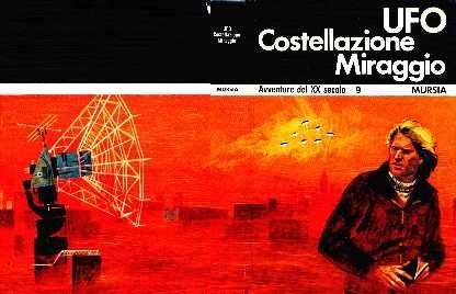 copertina di un volume della collana Avventure del XX Secolo