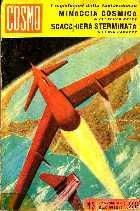 copertina di Minaccia cosmica Scacchiera sterminata