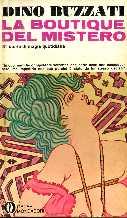 copertina di La boutique del mistero