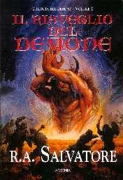 copertina di un volume della collana Trilogia del Demone