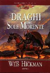 copertina di un volume della collana DragonLance. La Guerra delle Anime