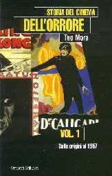 copertina di un volume della collana Storia del Cinema dell'Orrore