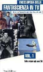 copertina di un volume della collana Enciclopedia della Fantascienza in TV