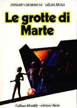 copertina di Le grotte di Marte