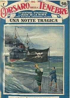 copertina di un volume della collana Il Corsaro delle Tenebre