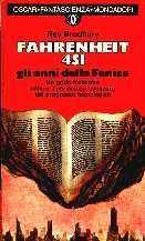 copertina di Fahrenheit 451