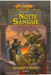 copertina di un volume della collana DragonLance. Le Guerre dei Minotauri