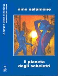 copertina di Il pianeta degli scheletri