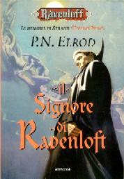 copertina di un volume della collana Ravenloft. Le memorie di Strahd
