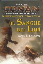 copertina di un volume della collana Age of Conan. Hyborian Adventures