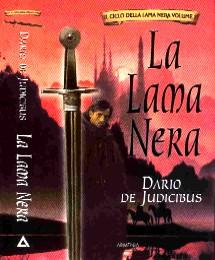 copertina di un volume della collana Il Ciclo della Lama Nera