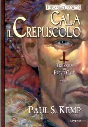 copertina di un volume della collana Forgotten Realms. La Trilogia di Erevis Cale