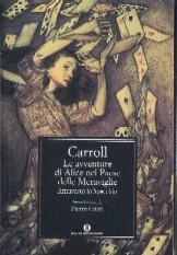 copertina di Le avventure di Alice nel Paese delle Meraviglie Attraverso lo Specchio