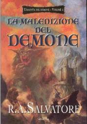 copertina di un volume della collana L'Eredità del Demone