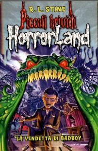 copertina di un volume della collana Piccoli Brividi HorrorLand