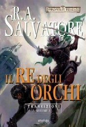 copertina di un volume della collana Forgotten Realms. Transizioni