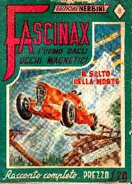 copertina di un volume della collana Fascinax