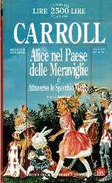 copertina di Alice nel Paese delle Meraviglie Attraverso lo specchio magico