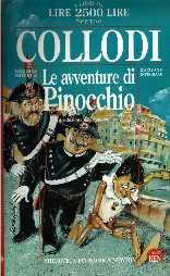 copertina di Le avventure di Pinocchio. [Storia di un burattino]
