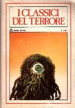 copertina di un volume della collana I Classici del Terrore. Raccolta Psyco