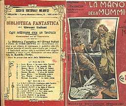 copertina di un volume della collana Biblioteca Fantastica dei Giovani Italiani