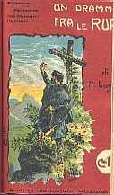 copertina di Un dramma tra le rupi