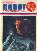 copertina di un volume della collana Raccolta Robot